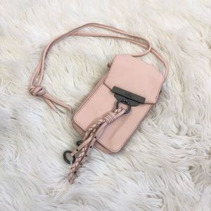 Kooba Dionne Leather Phone Crossbody Pouch